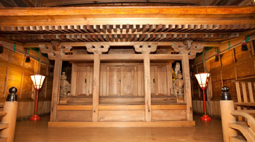 10, 阿多由太神社本殿(日本遺産構成文化財)
