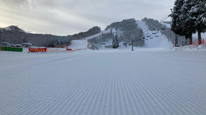 朴の木 平 スキー 場